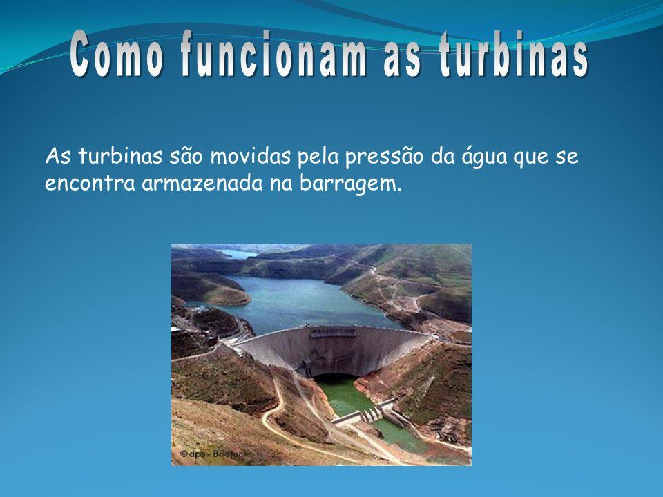 Água Barragem Turbina