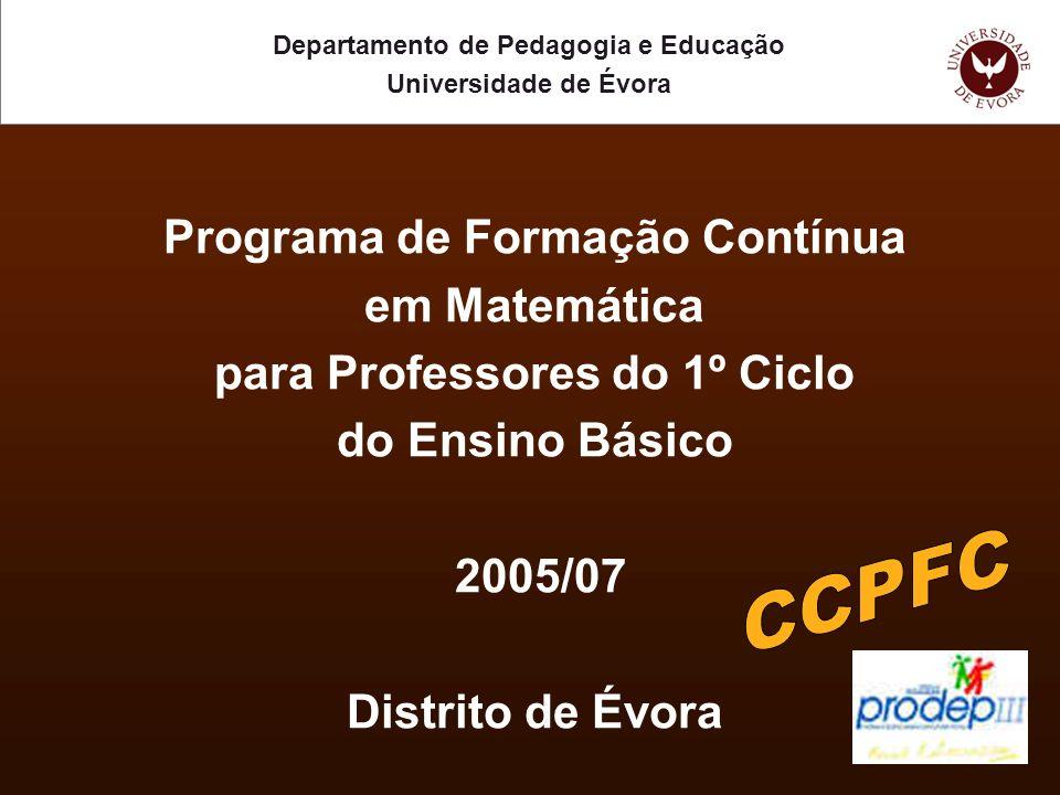 Princípios Valorização do desenvolvimento profissional do professor.