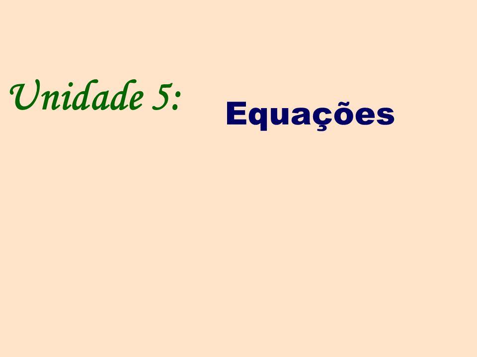 Equações do 2º grau.Equações do tipo ax2 = b, a 0.