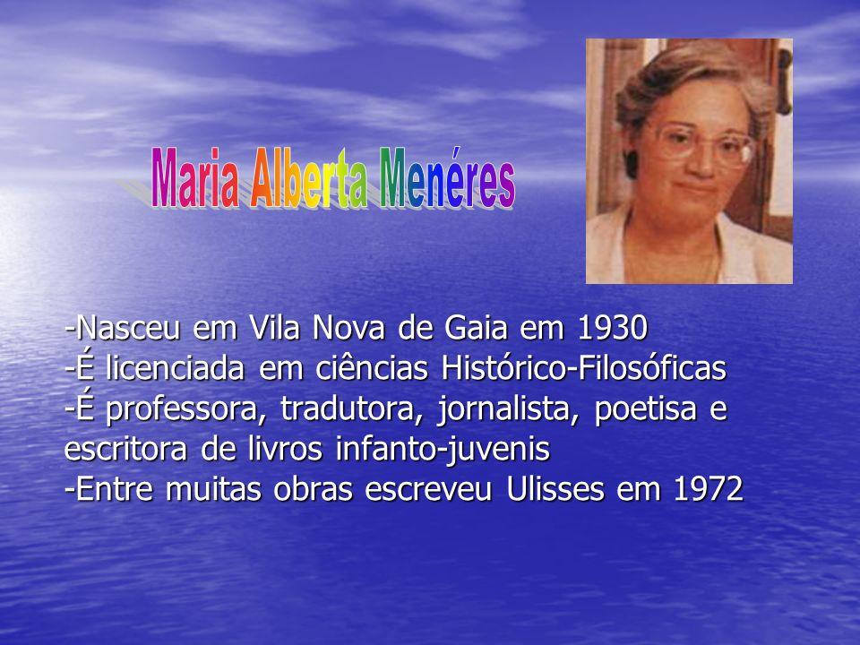 -Nasceu em Vila Nova de Gaia em 1930 -É licenciada em ciências Histórico-Filosóficas -É professora, tradutora, jornalista, poetisa e escritora de livr