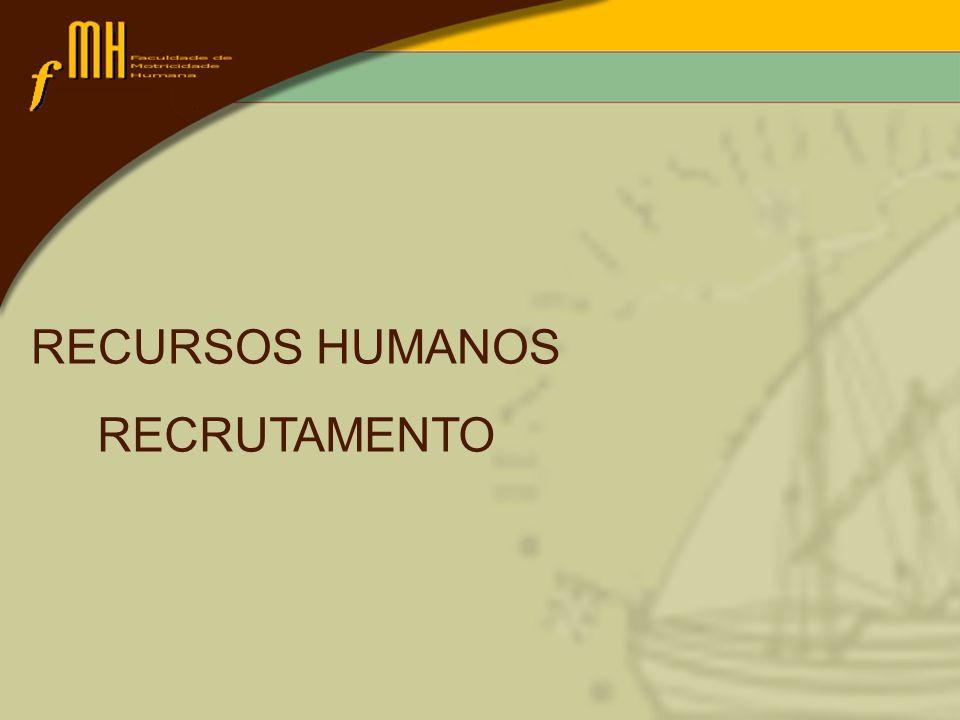 Introdução Noção de mercado Noção de mercado de trabalho e mercado de rhs Recrutamento de rhs Fontes de recrutamento Meios de recrutamneto Recrutamento de rhs