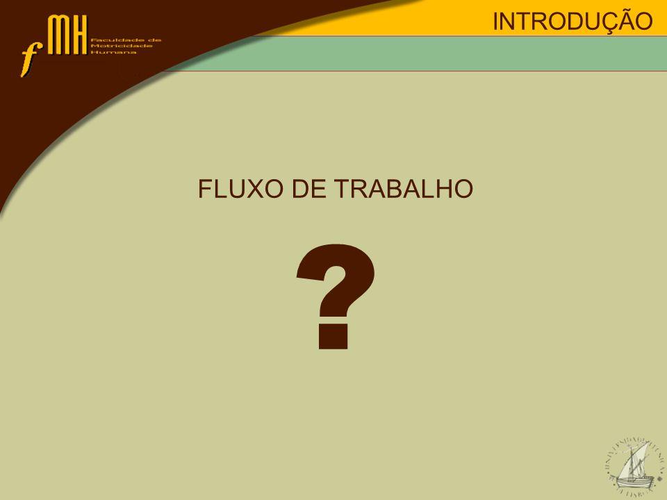 INTRODUÇÃO FLUXO DE TRABALHO ?
