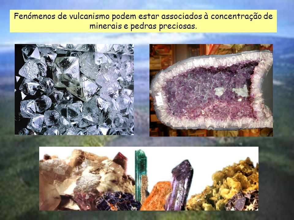 e As cinzas vulcânicas são muito procuradas para a cura de certas doenças. Aproveitamento do calor interno da Terra - cozido açoriano.