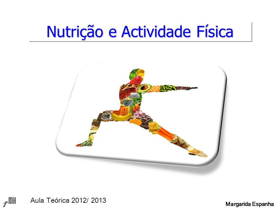 Nutrição e Actividade Física Aula Teórica 2012/ 2013 Margarida Espanha