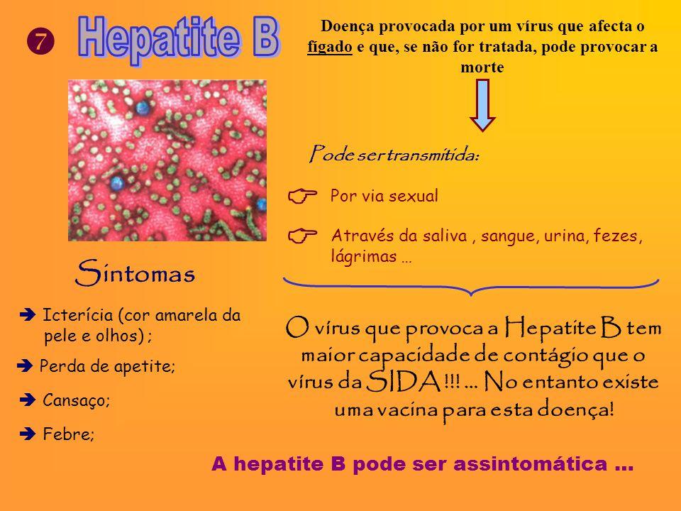 As DST são facilmente diagnosticadas … excepto a SIDA Não se pode saber se uma pessoa está infectada pelo seu aspecto físico !!!