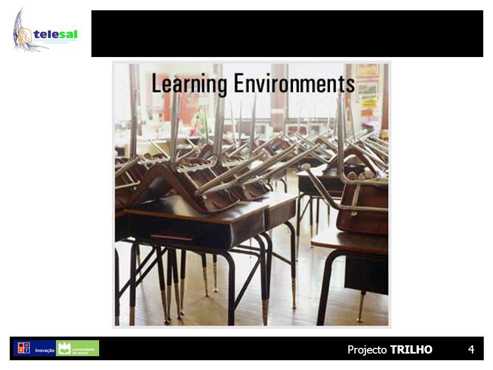 Projecto TRILHO15 % de Realização VI Tarefa T3.2 – Definição, especificação e concepção de uma estrutura de registo de qualificações e competências Tarefa% Início da elaboração de uma estrutura de caracterização e categorização de qualificações e competências 100