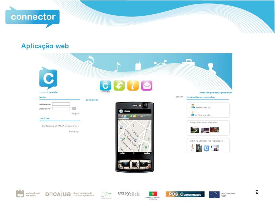 9 Aplicação web