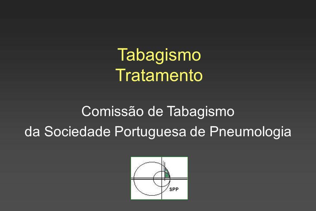 SPP Tabagismo Tratamento Comissão de Tabagismo da Sociedade Portuguesa de Pneumologia
