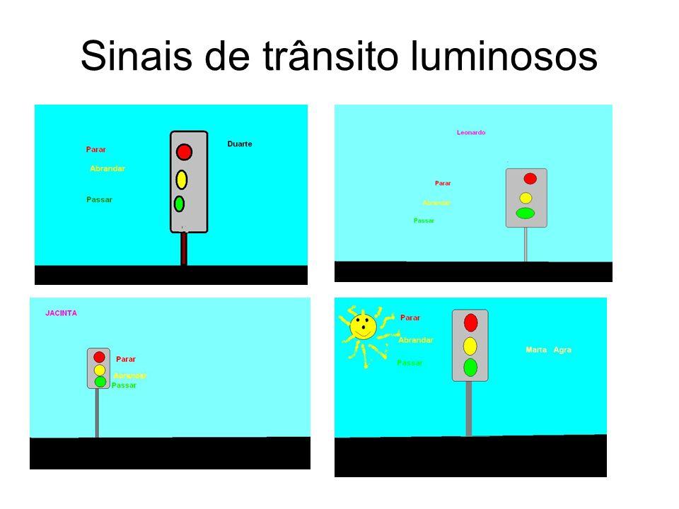 Sinais de trânsito luminosos