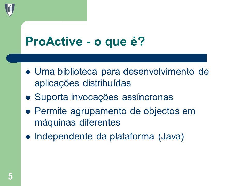 ProActive - o que é.