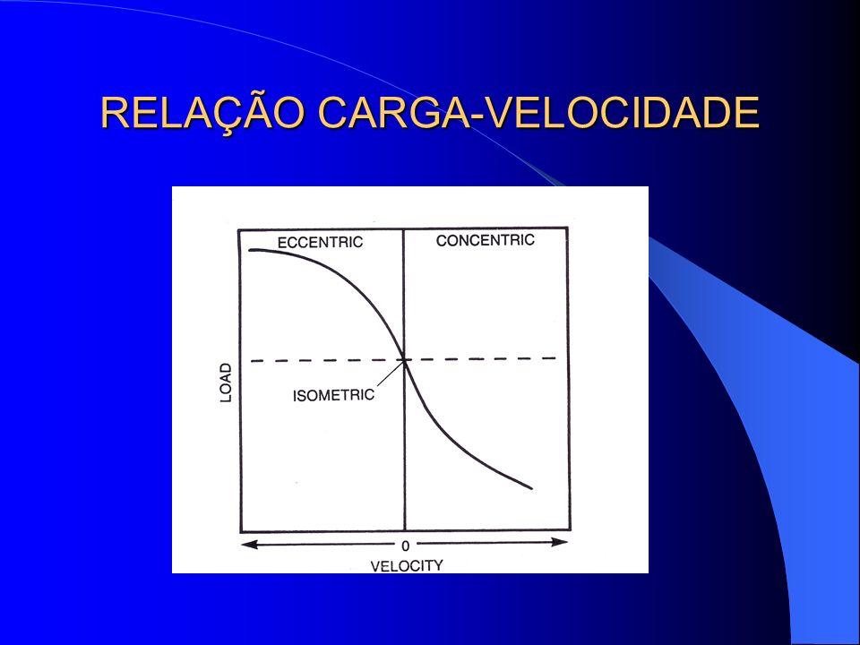RELAÇÃO CARGA-VELOCIDADE