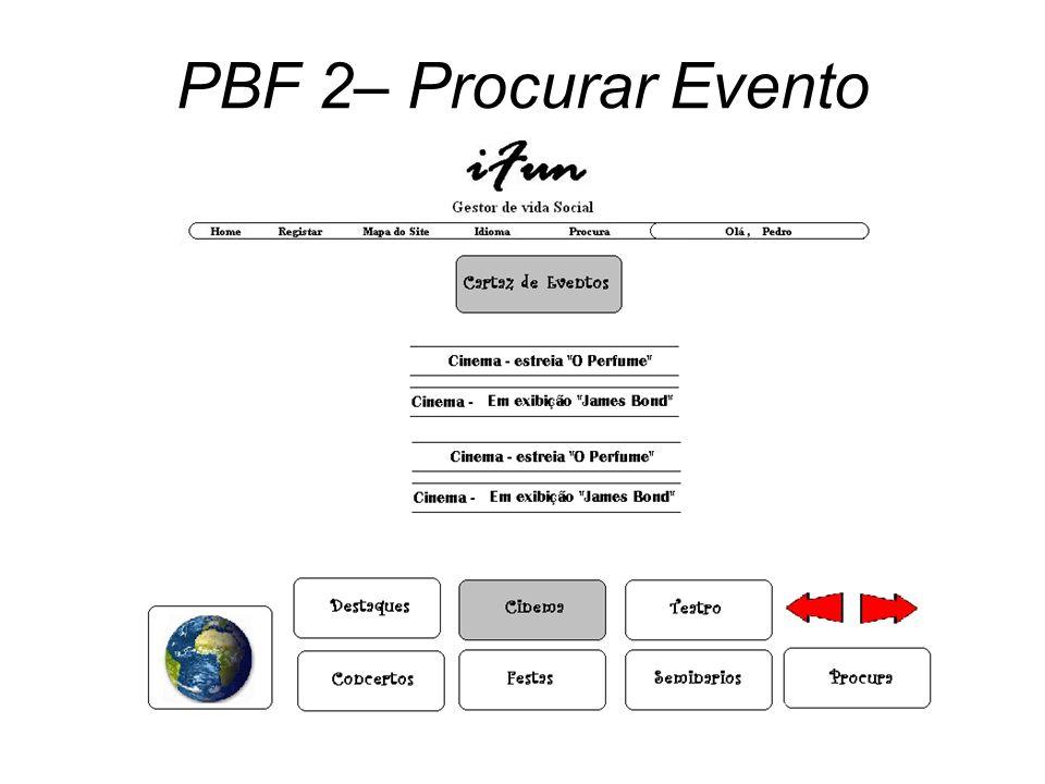 PBF 2– Procurar Evento