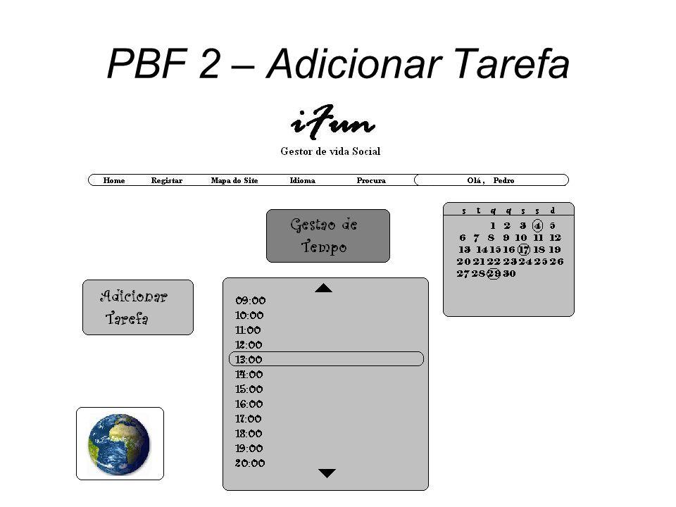 PBF 2 – Adicionar Tarefa