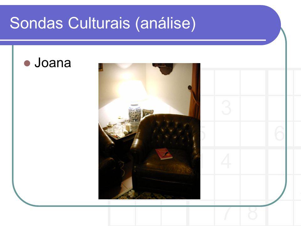 Sondas Culturais (análise) Joana