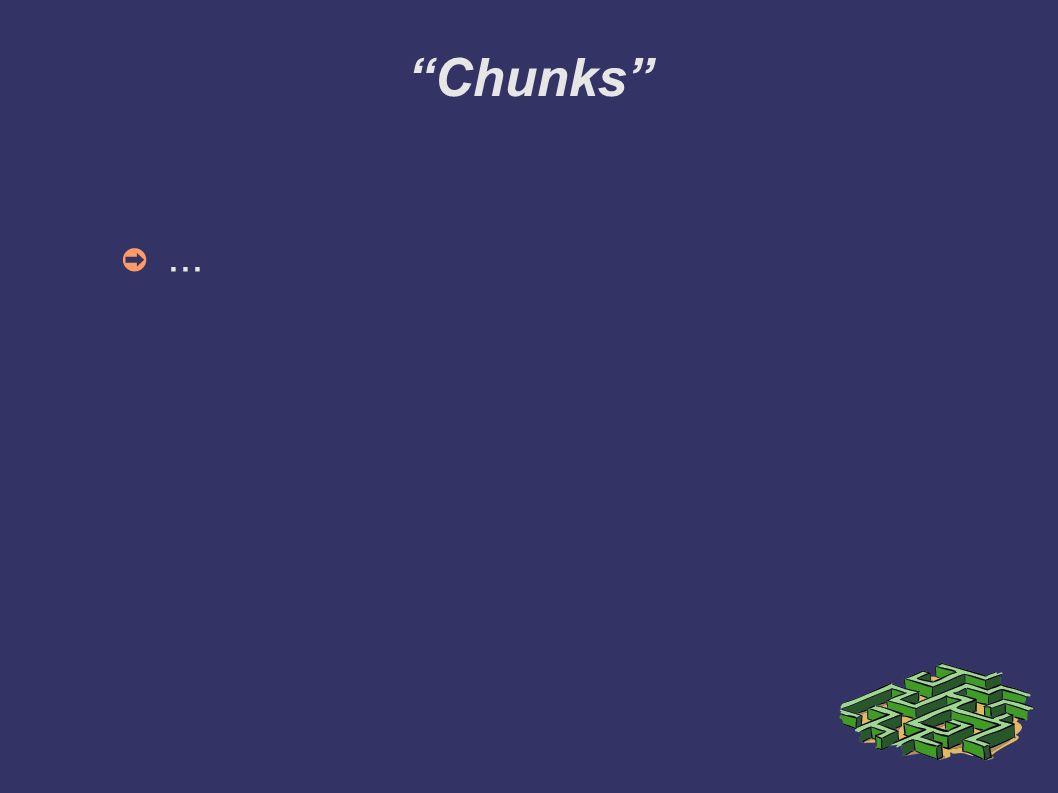 Chunks...