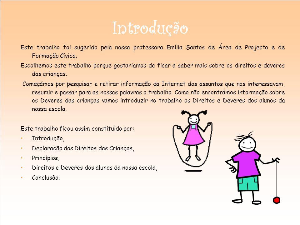 Introdução Este trabalho foi sugerido pela nossa professora Emília Santos de Área de Projecto e de Formação Cívica. Escolhemos este trabalho porque go