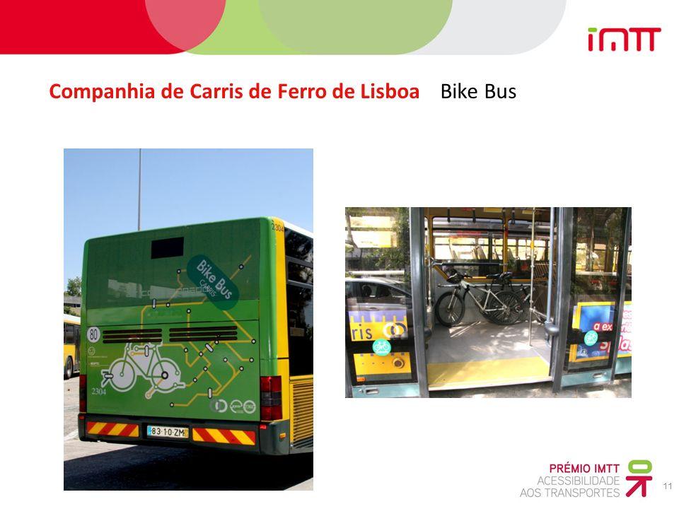 11 Companhia de Carris de Ferro de Lisboa Bike Bus