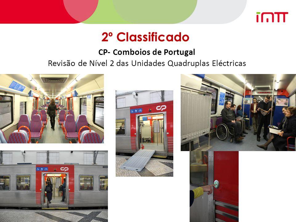 2º Classificado CP- Comboios de Portugal Revisão de Nível 2 das Unidades Quadruplas Eléctricas