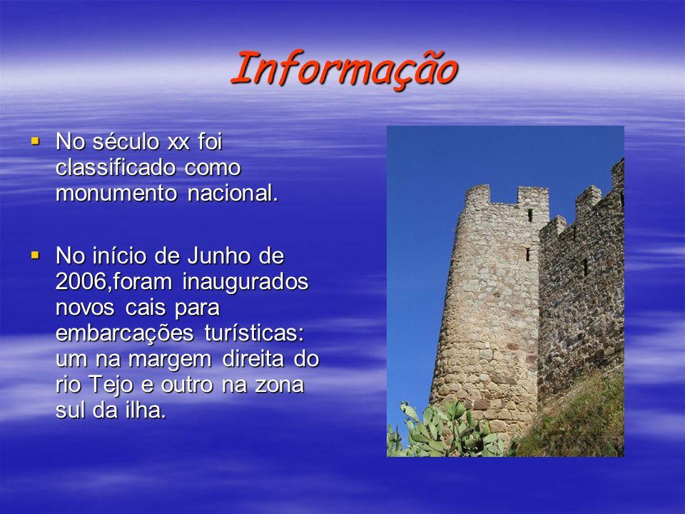 Informação No século xx foi classificado como monumento nacional. No século xx foi classificado como monumento nacional. No início de Junho de 2006,fo