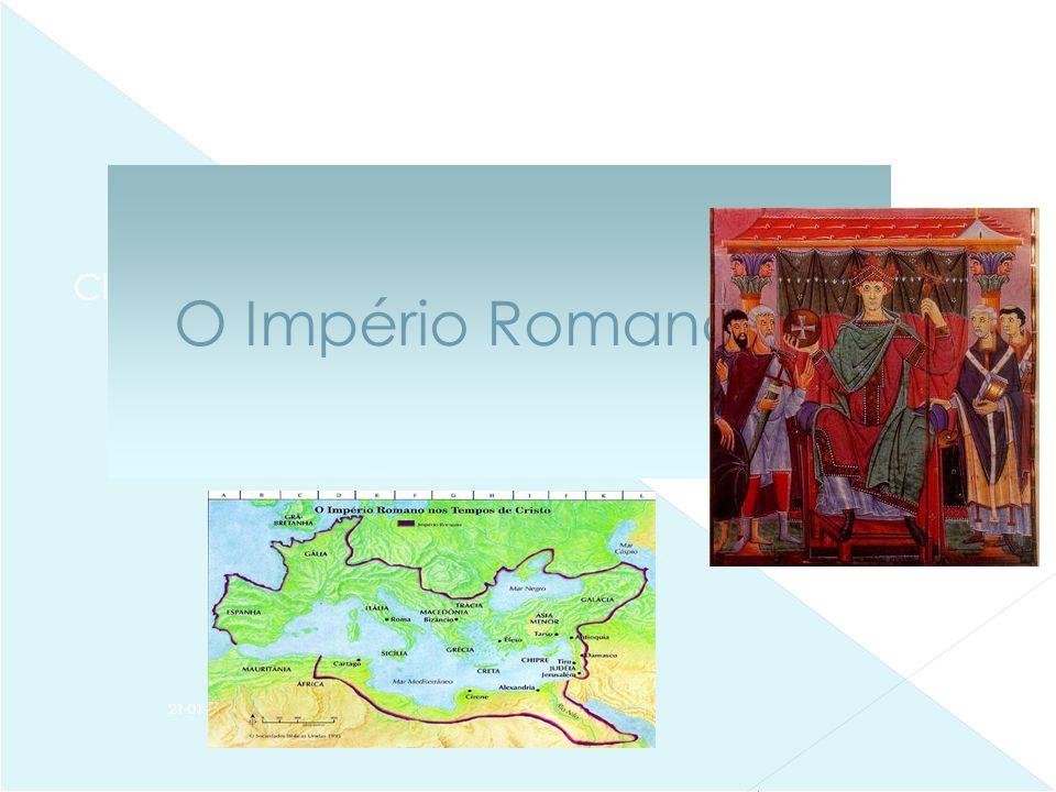 Clique para editar o estilo do subtítulo mestre 21-01-2014 O Império Romano