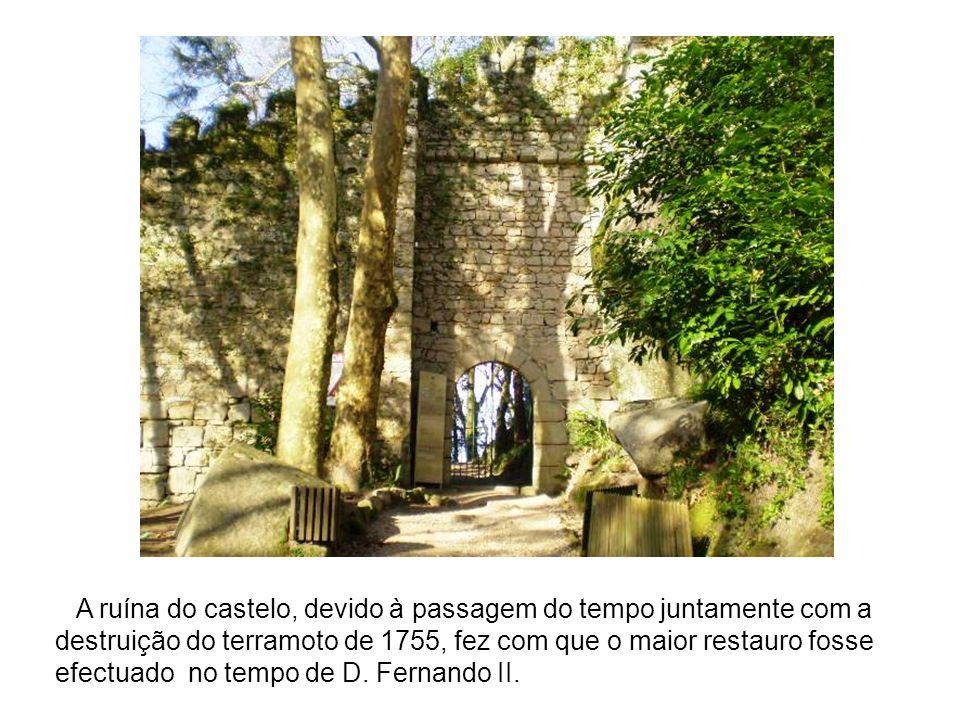 A ruína do castelo, devido à passagem do tempo juntamente com a destruição do terramoto de 1755, fez com que o maior restauro fosse efectuado no tempo de D.