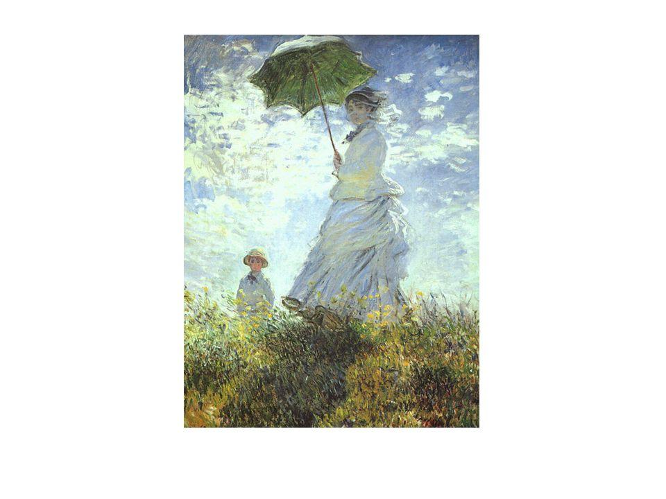 Claude Monet (1840-1926) Este é o quadro mais célebre da primeira exposição impressionista em 1874.