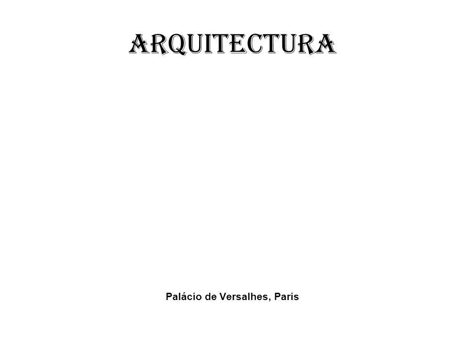 Arquitectura Palácio de Versalhes, Paris