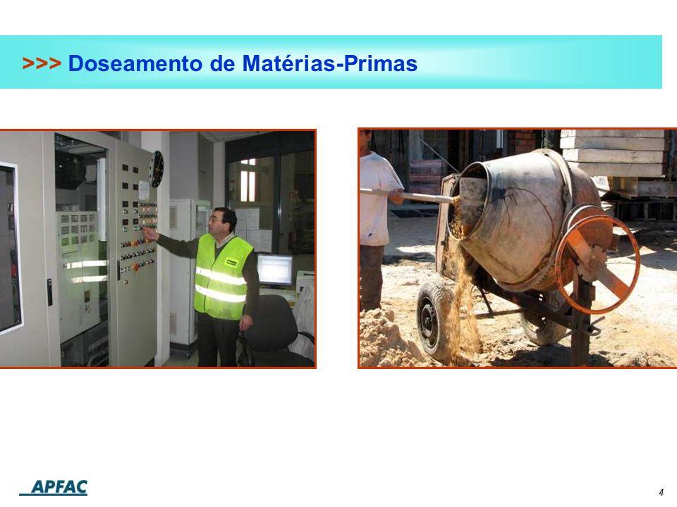 4 >>> Doseamento de Matérias-Primas