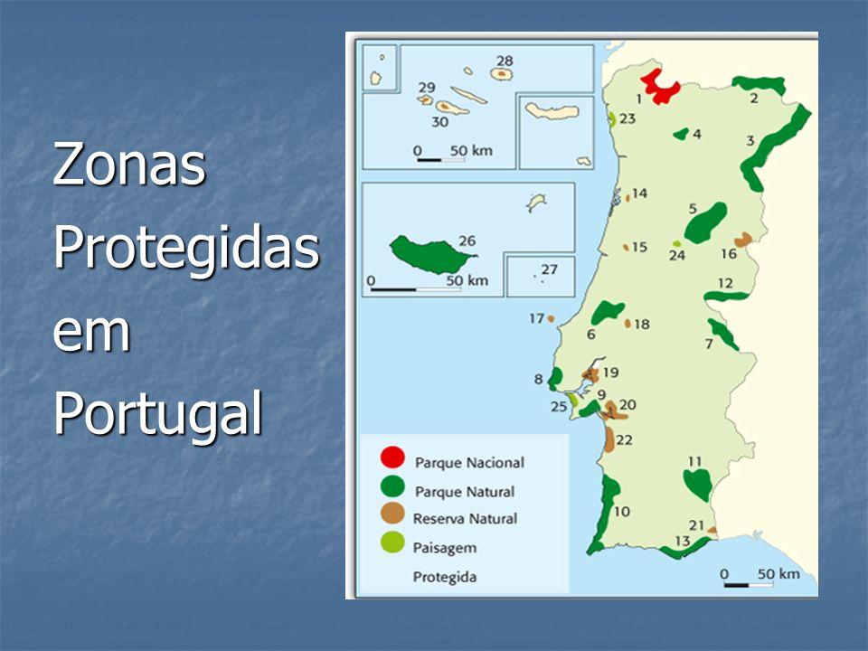 ZonasProtegidasemPortugal