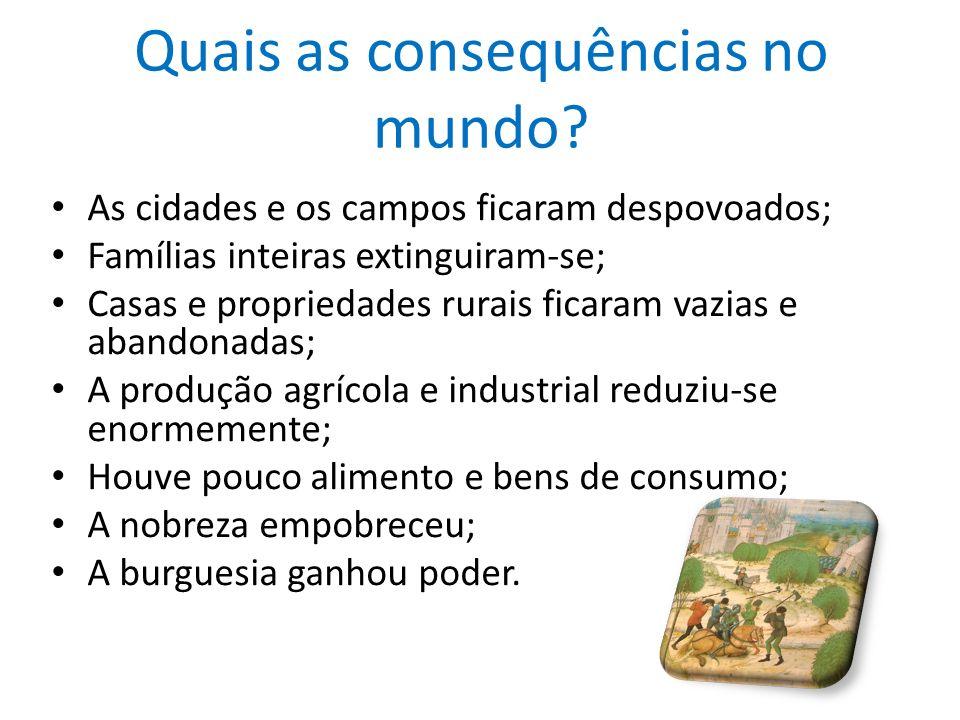 Quais foram as consequências em Portugal.