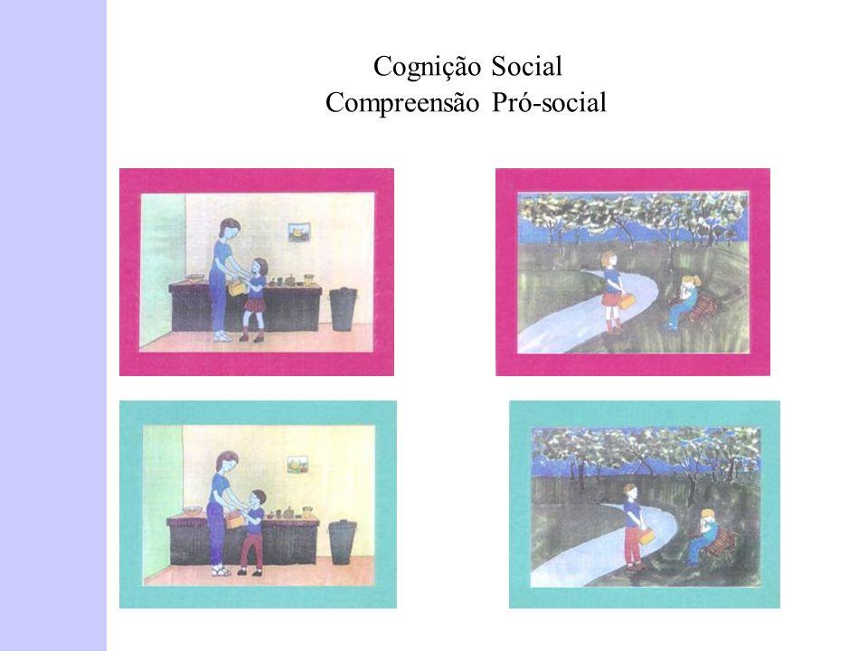 Cognição Social Compreensão Pró-social