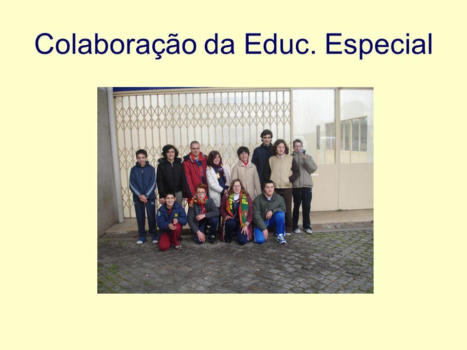 Colaboração da Educ. Especial