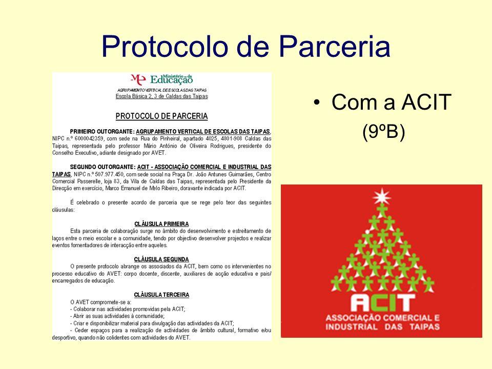 Protocolo de Parceria Com a ACIT (9ºB)