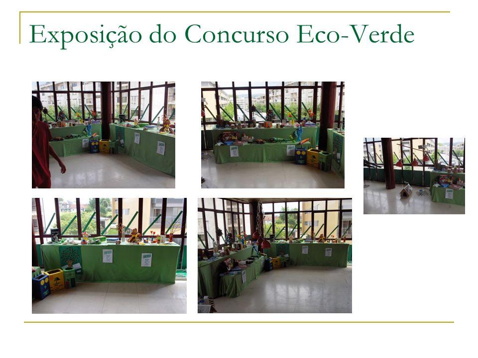 Exposição do Concurso Eco-Verde