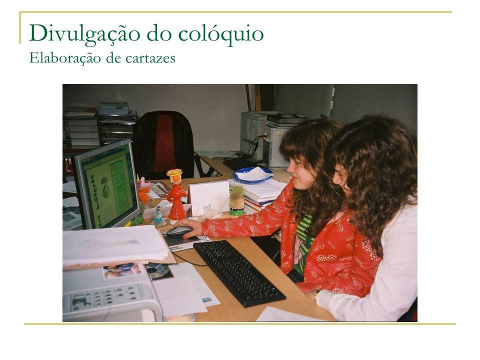 O programa do colóquio