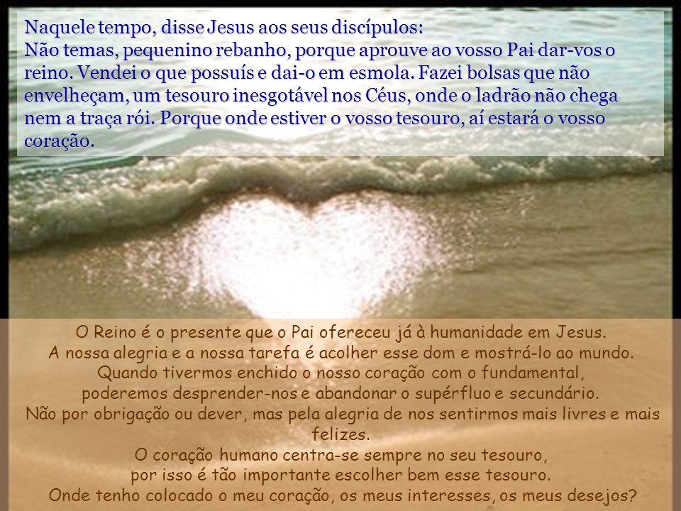 O mundo de Deus e o humano estão em contacto e a escalada de comunicação com Ele está colocada, não no templo, nem num santuário, nem num monte ou em qualquer outro lugar sagrado, mas aí onde os homens e as mulheres passam, caminham, descansam ou se põem a dormir Dolores Aleixandre Lucas, 12, 32-48 // 19 Tempo Comum –C- Autora: Asun Gutiérrez.