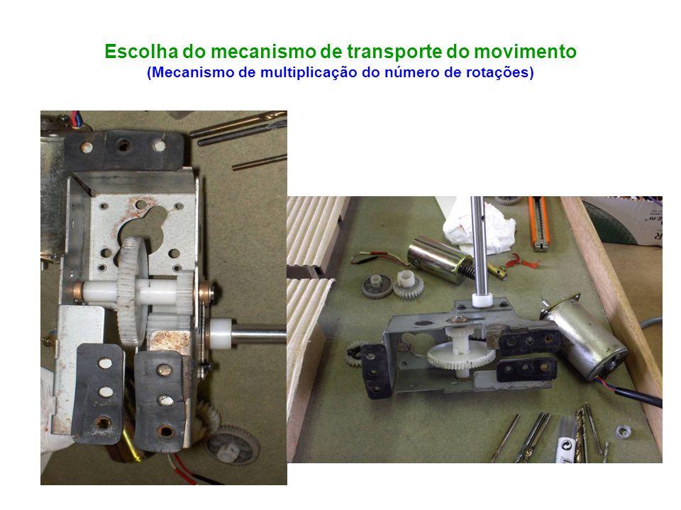 Escolha do Gerador de Corrente Continua (Transforma energia mecânica em energia eléctrica)