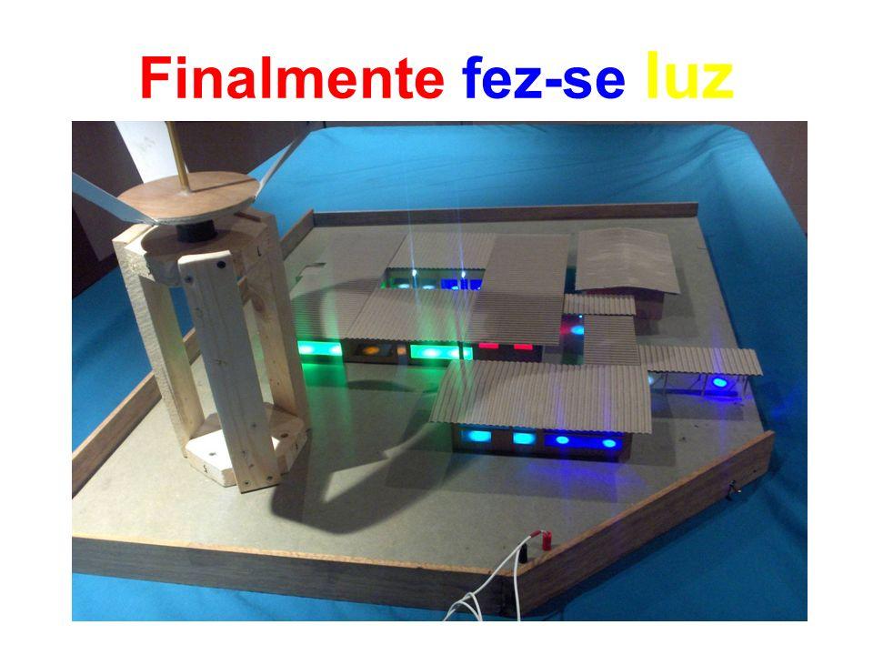 Ligação dos Aerogeradores ao sistema de iluminação
