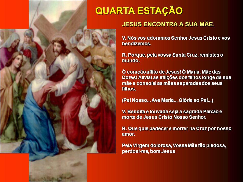 DÉCIMA QUARTA ESTAÇÃO DÉCIMA QUARTA ESTAÇÃO JESUS É SEPULTADO.