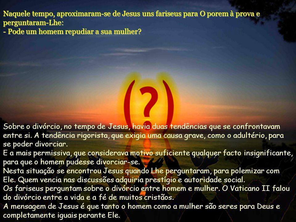 O movimento de Jesus, que prepara e antecipa o reino de Deus, não tem de ser um grupo dirigido por homens fortes que se impõem aos outros a partir de