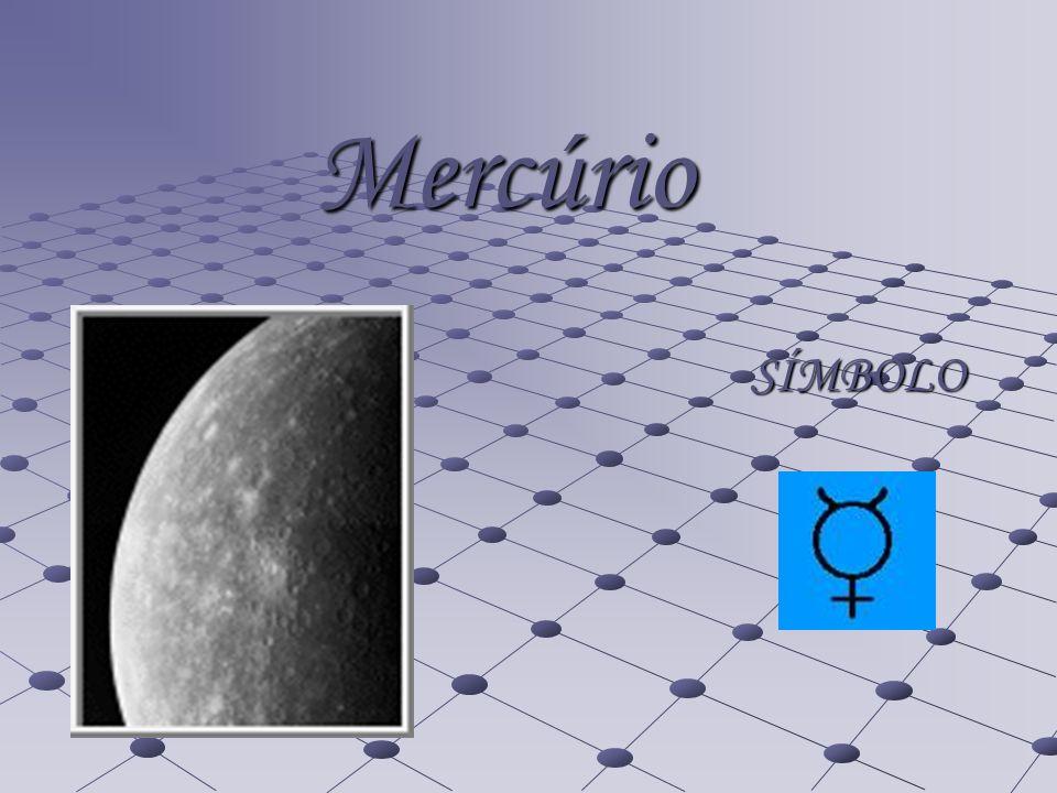 CARACTERISTICAS Distância média ao sol em U.A: 0,39 UA Distância média ao sol em km: 57 910 000 km Período de translação: 88 dias terrestres Período de rotação: 59 dias terrestres Velocidade orbital: 47.88 km/s Temperatura.: 427 ºC (dia) _ -170 ºC (noite) Diâmetro equatorial: 4878 km Nº de luas: 0 Nº de anéis: 0