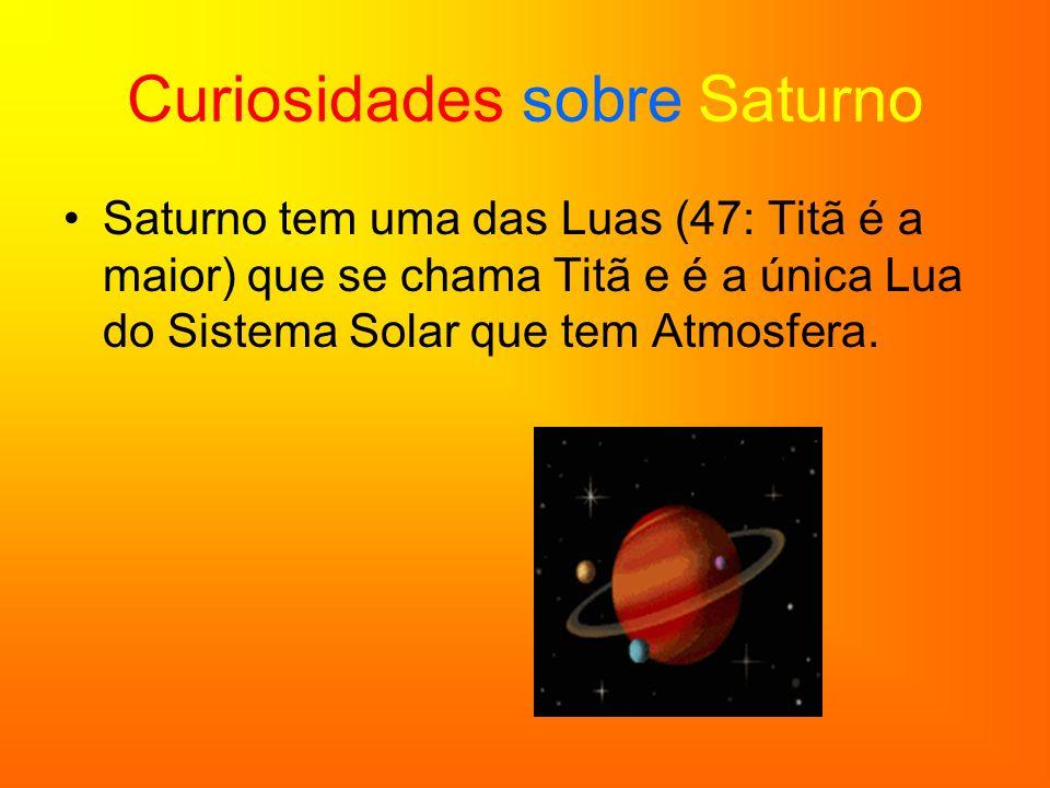 Fotos de Saturno Saturno e os seus anéis