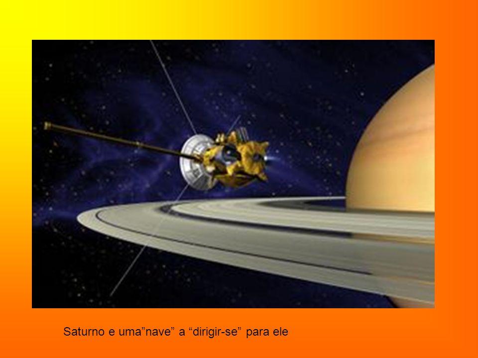 Saturno e um gif