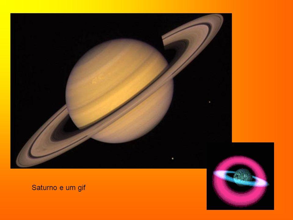 Os anéis de Saturno