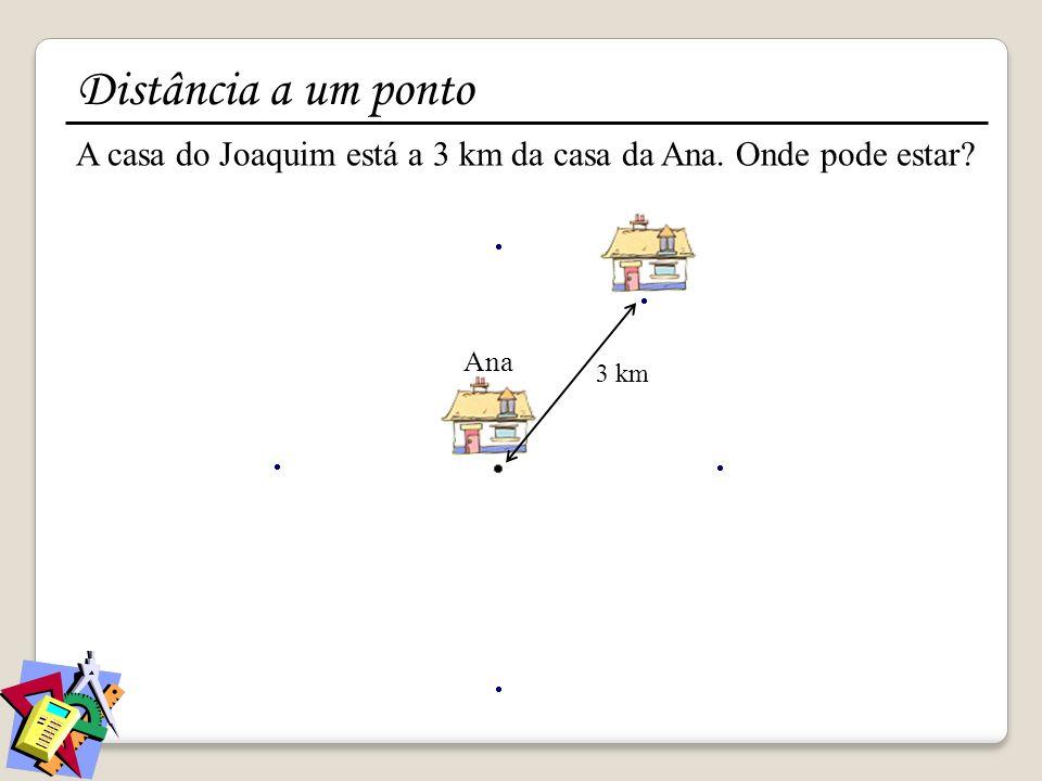 Distância a um ponto distância igual a … do ponto … distância menor ou igual a … do ponto … distância menor que … do ponto … distância maior que … do ponto … distância maior ou igual a … do ponto …
