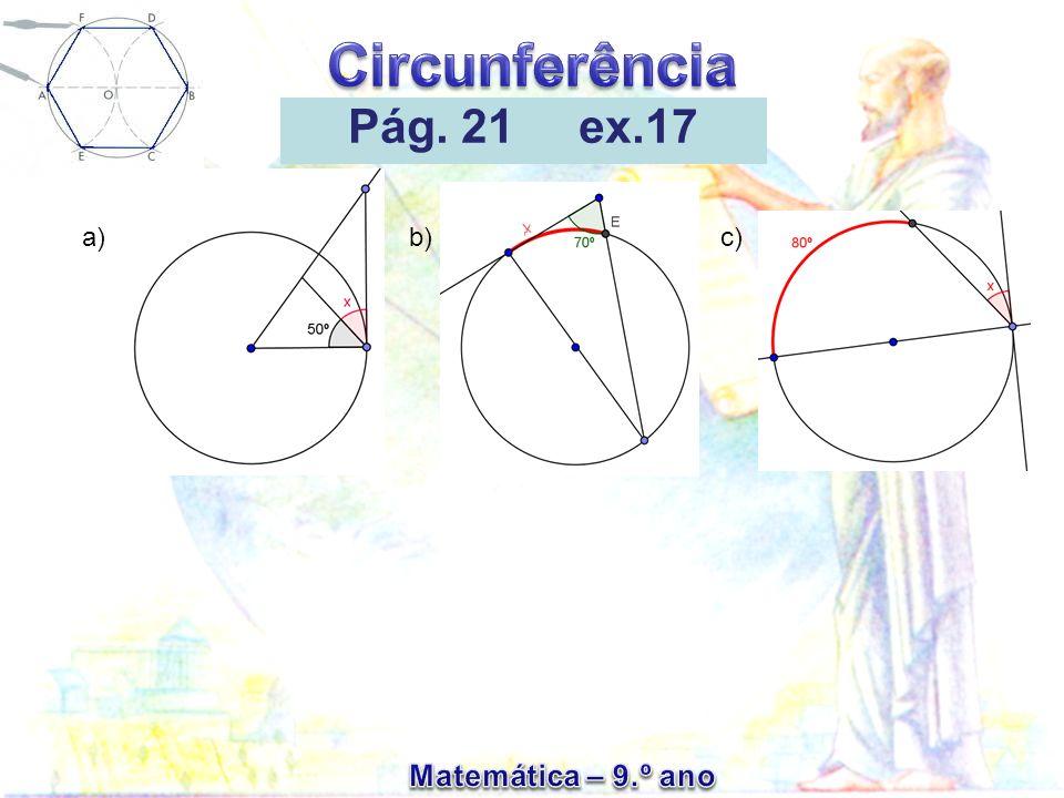Pág. 21 ex.17 a) b) c)