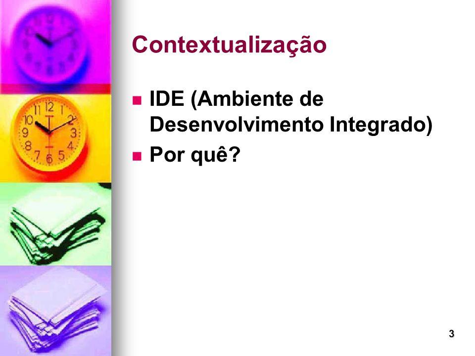 3 Contextualização IDE (Ambiente de Desenvolvimento Integrado) Por quê?