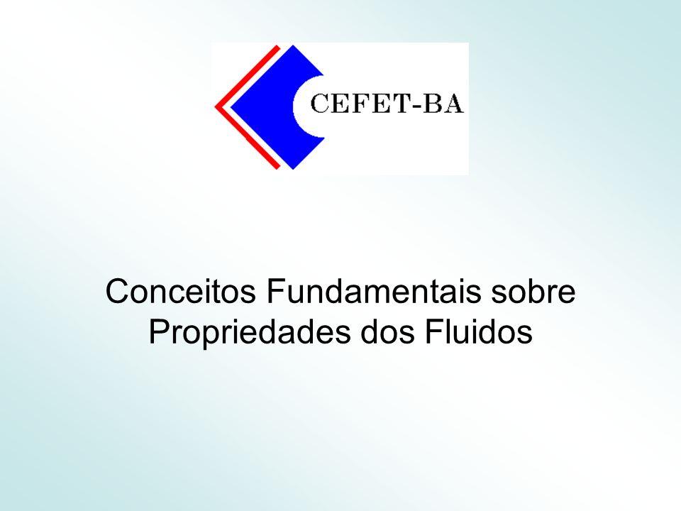 22 Propriedades Físicas dos Fluidos Densidade (d) Substância de referência e condições-padrão.