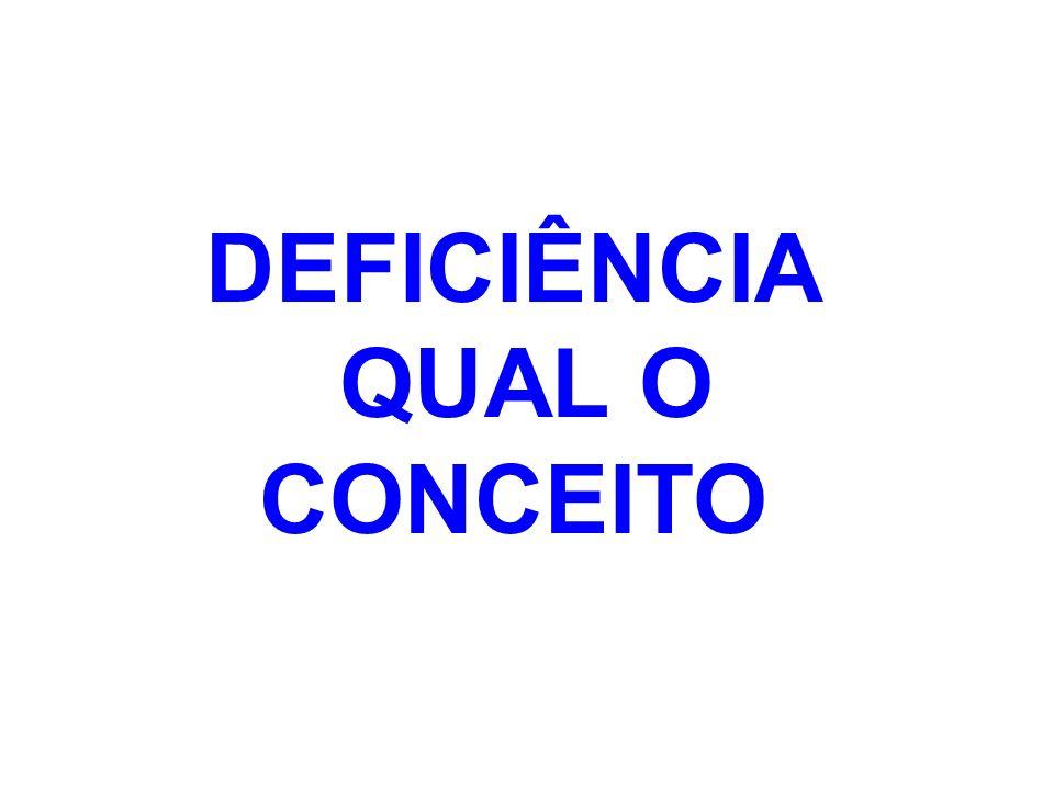 A INSERÇÃO DA PESSOA EM SEU AMBIENTE DEFINIRÁ SUA CONDIÇÃO