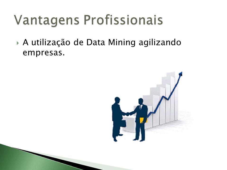 A utilização de Data Mining agilizando empresas.